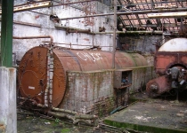 Boiler plant at Cheadle Bleach Works