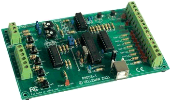Velleman K8055 interface card