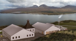 Artist's impression of Ardnahoe distillery